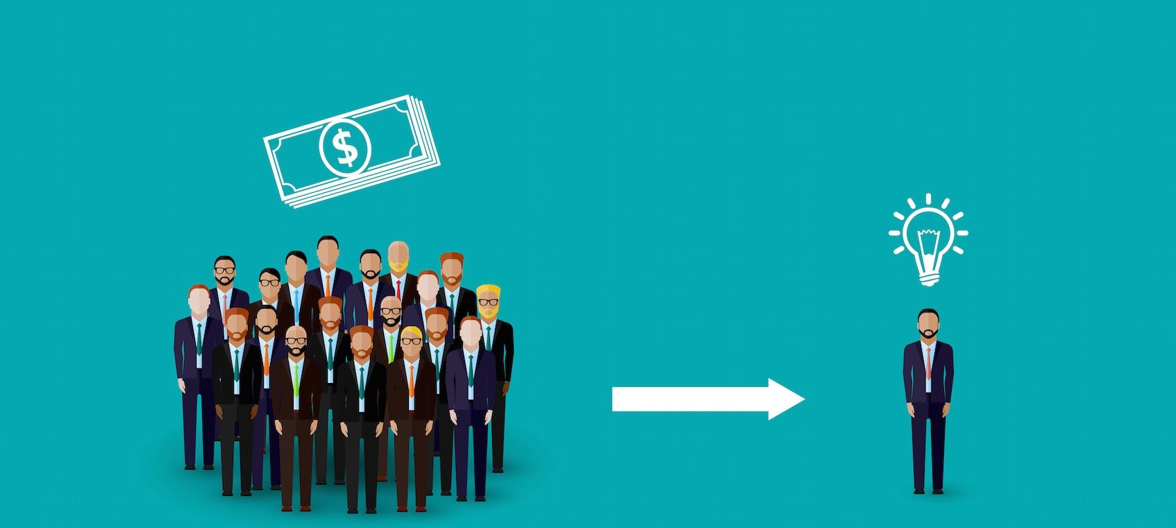 hvad er crowdfunding